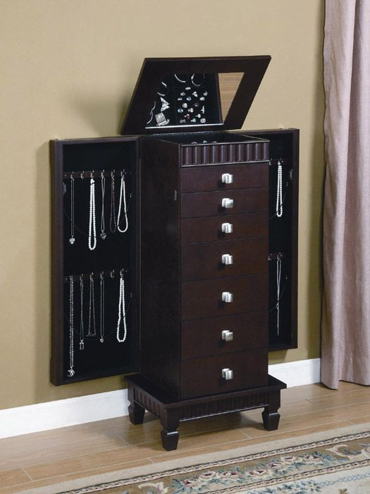 Great Wood Jewellery Armoire Wooden Jewellery Armoire By IKEA