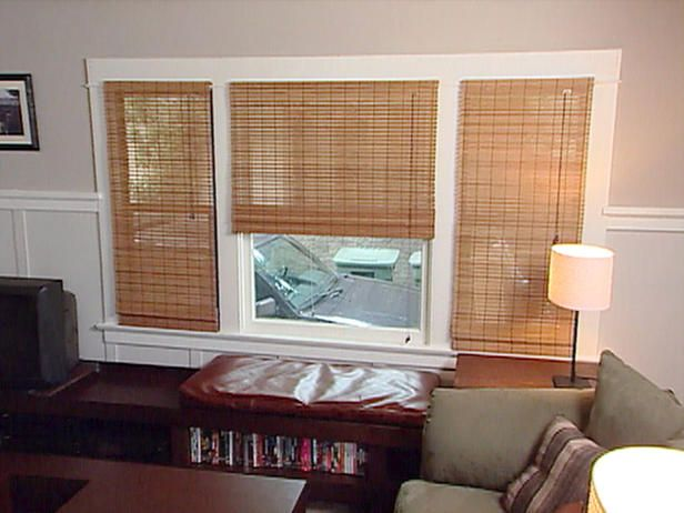 Living room window treatment ideas living room blinds for Living room window blinds