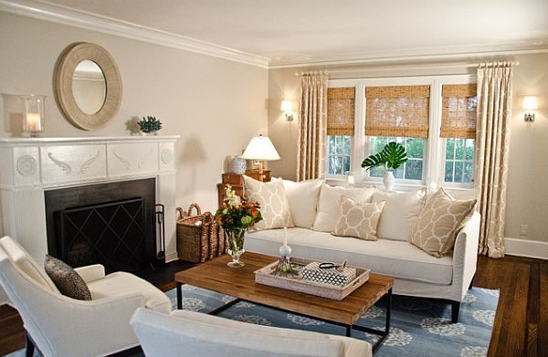 Living room window treatment ideas for Living room picture window ideas