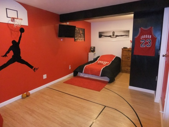 6 amazing teenage boys bedroom design ideas for Boys sports bedroom ideas