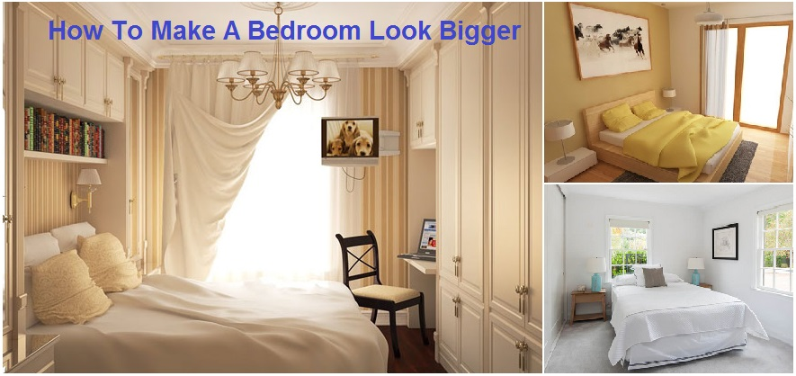 How To Make A Small Bedroom Look Bigger Free Colors To